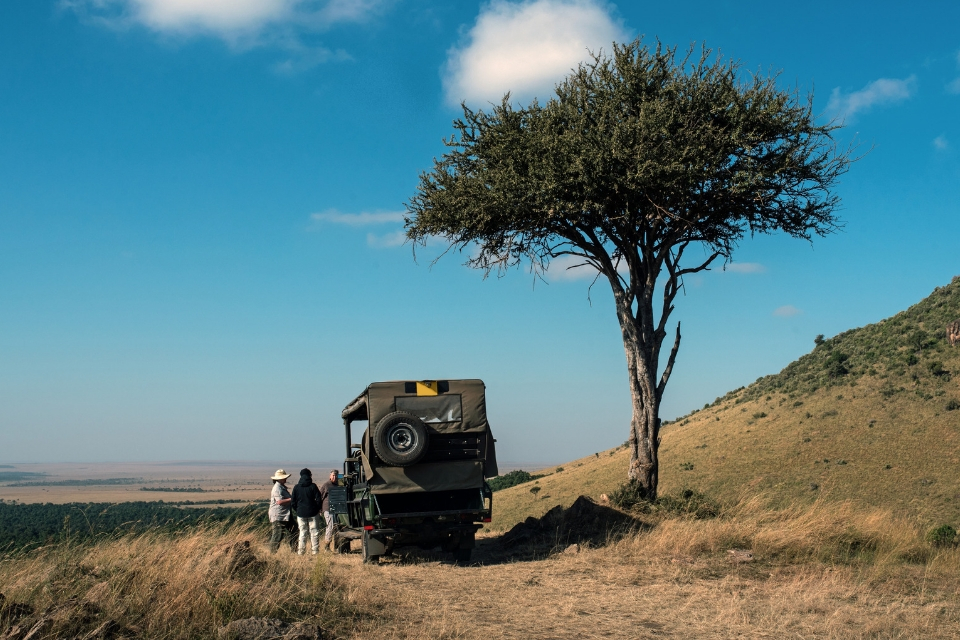 family safari - Safety in the African Bush