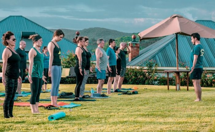 7 Days Group Joining Yoga Safari in Tanzania. Leadwood Expeditions